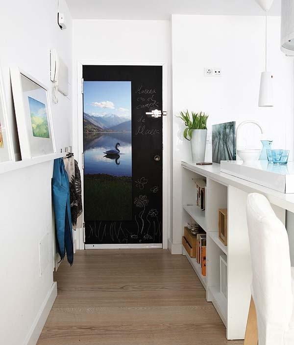 北欧65平米一居室装修效果图大全2014图片