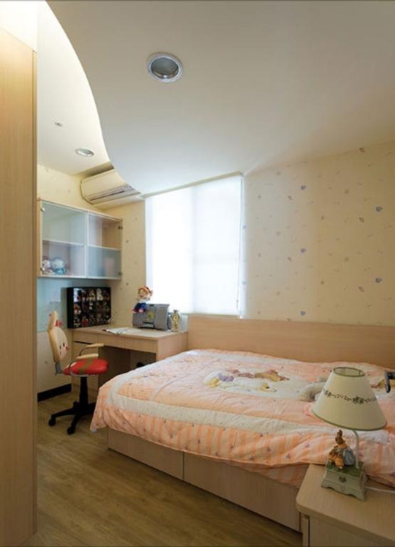 日韩风格三居室儿童房床装修效果图大全2014图片