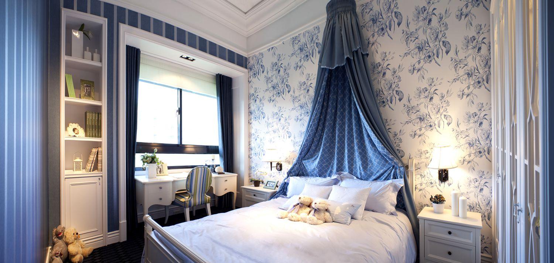 四居室卧室床装修效果图大全2014图片