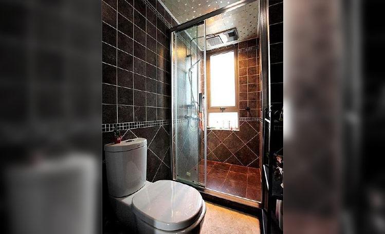 现代简约三居室卫生间吊顶装修效果图大全2014图片